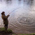 Photo of Kim Morison fishing